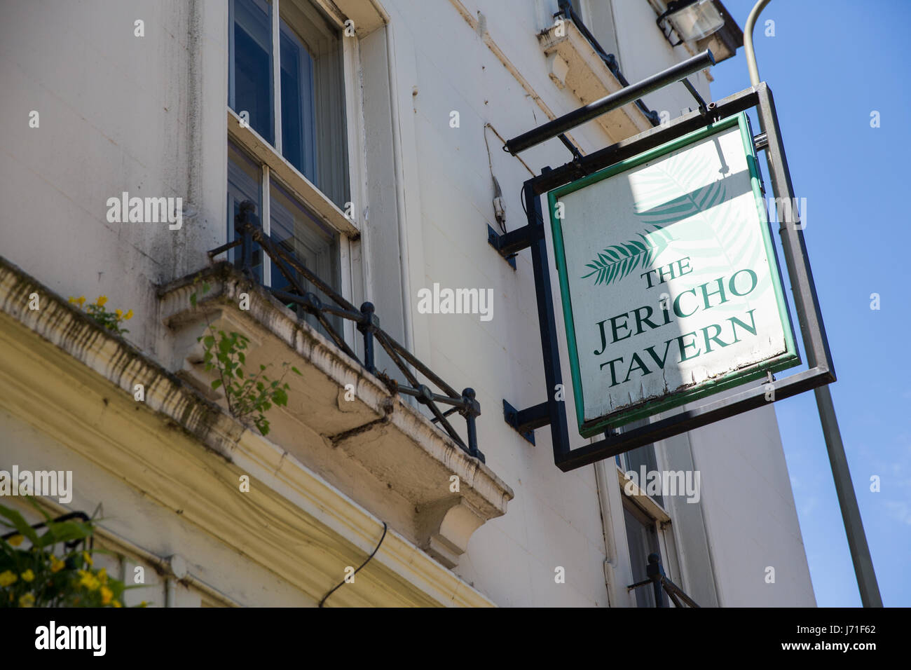 Oxford, UK. 22nd May, 2017. The Jericho Tavern, where Radiohead played a gig under the name On A Friday in 1991 Stock Photo
