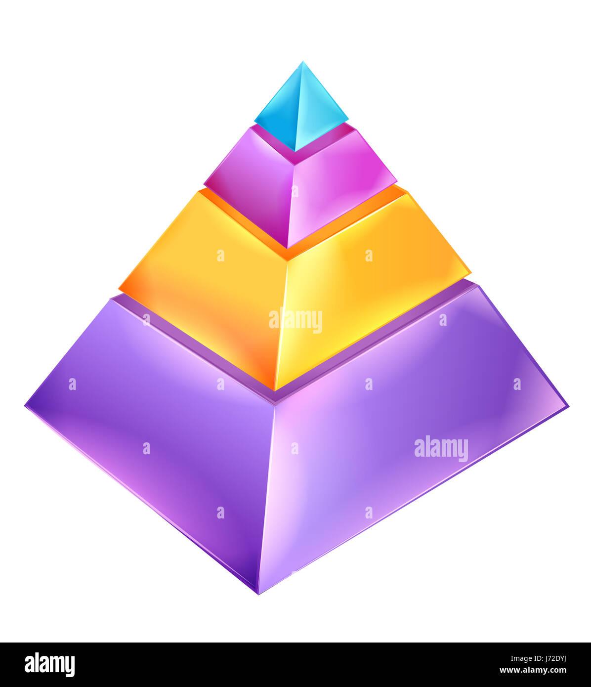 pyramid presentation graphics model design project concept plan