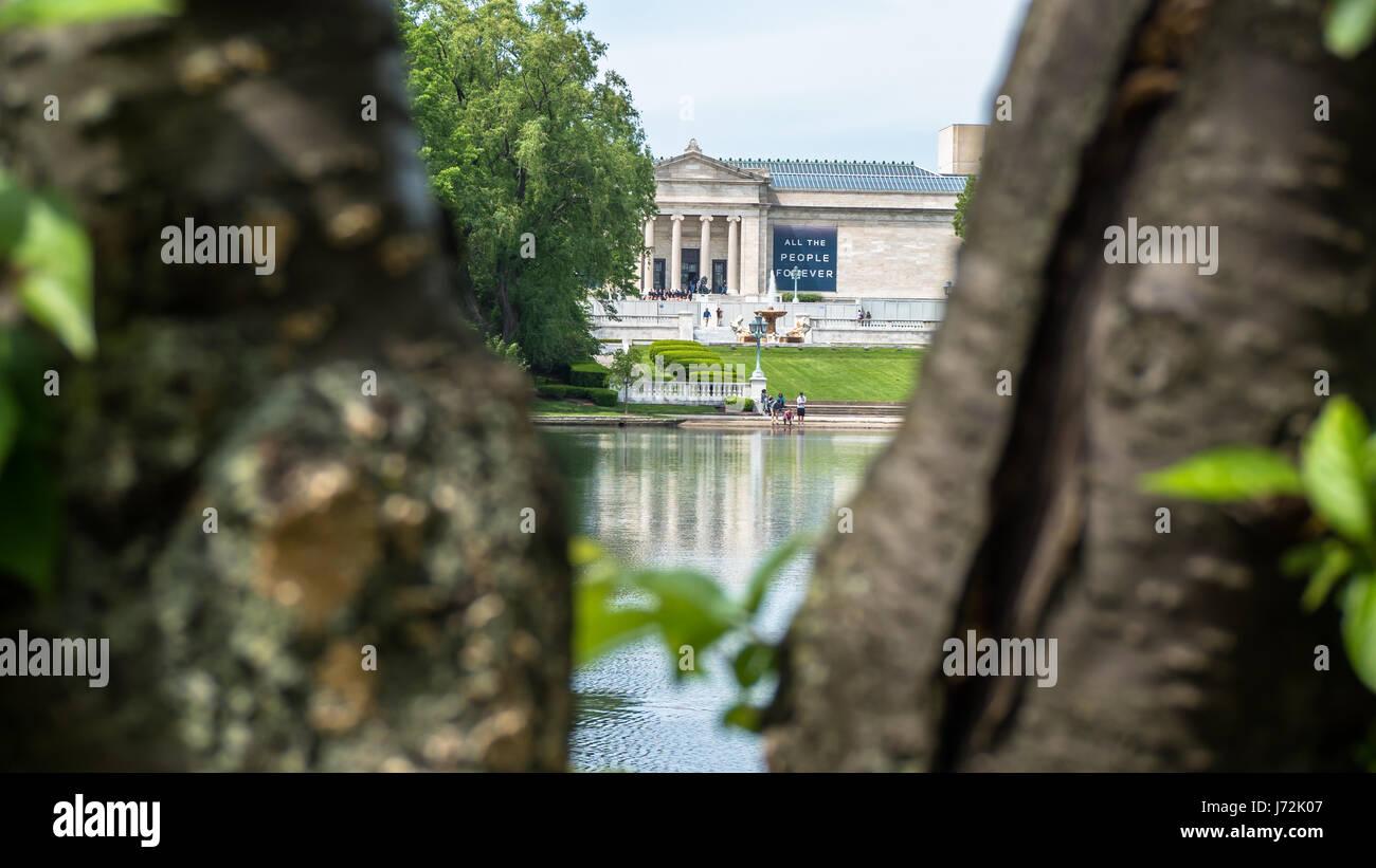 Art Museum Stock Photo