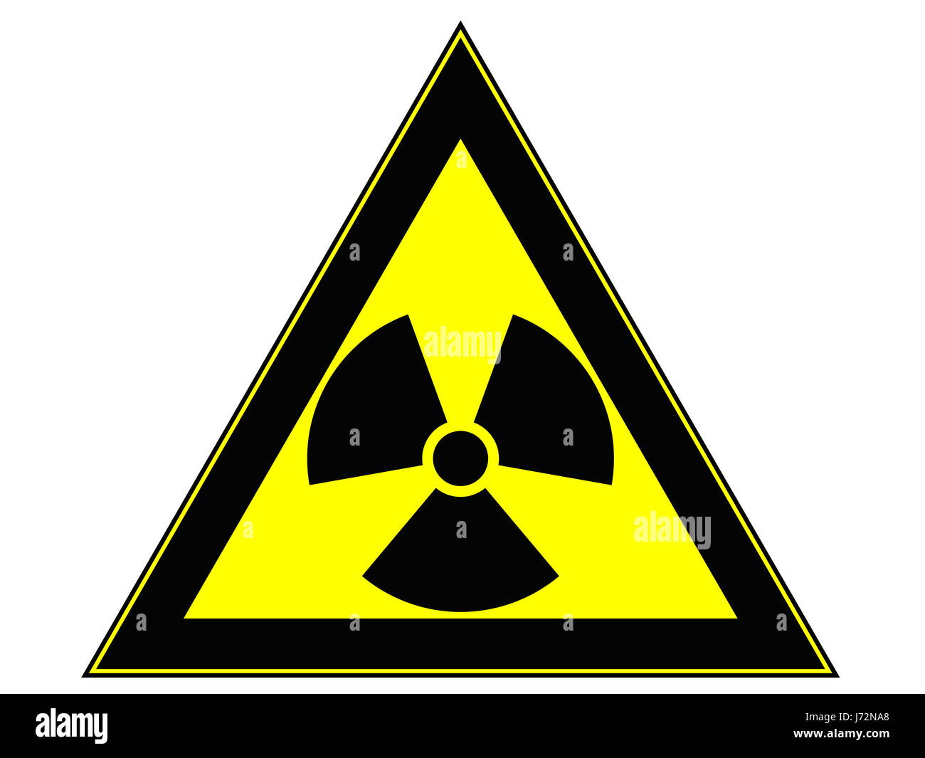 Sign Signal Radioactive Radioactivity Fiddler Atomic Power Pictogram