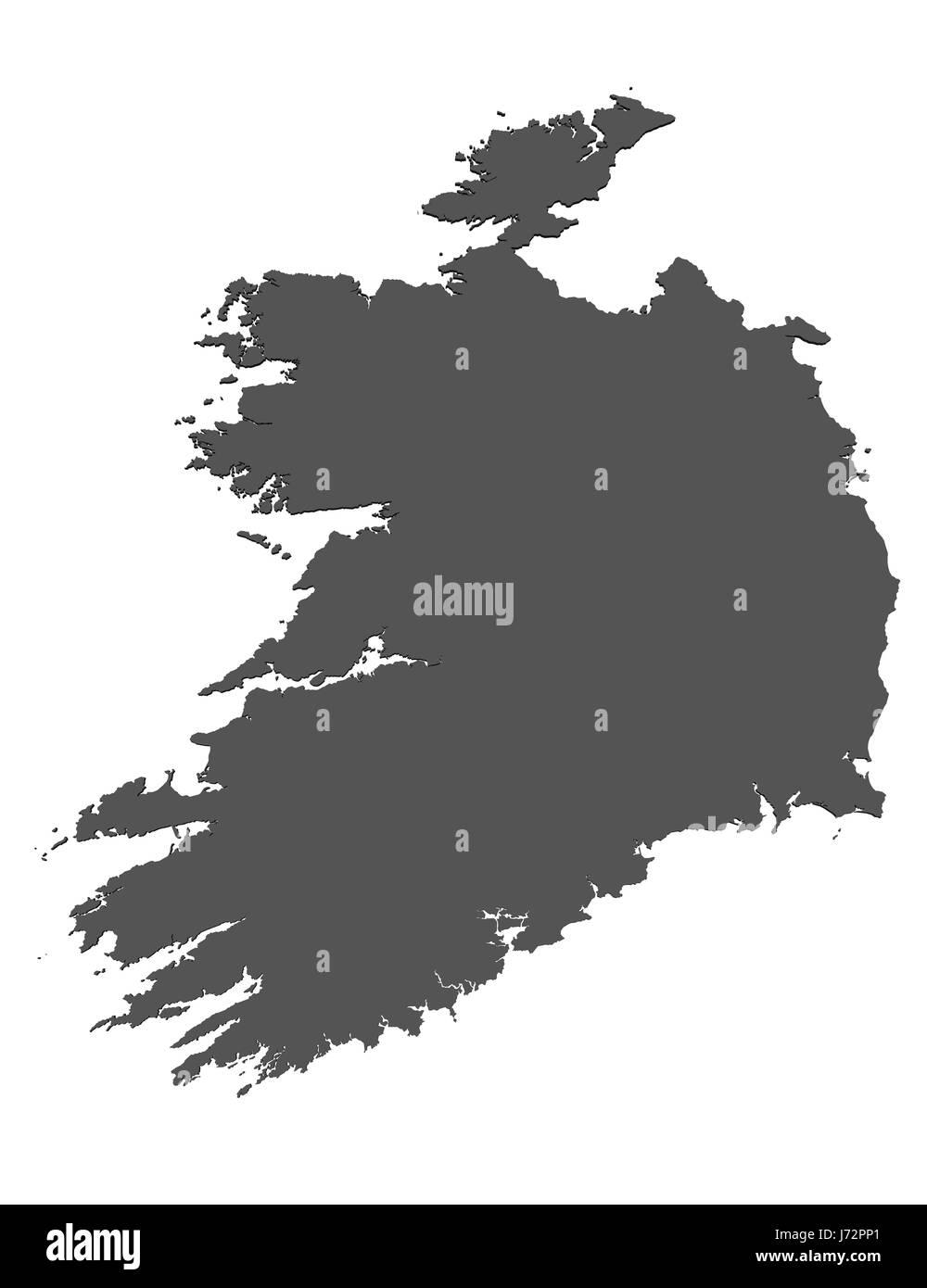 Europe Card Ireland European Union Joining Atlas Map Of The World