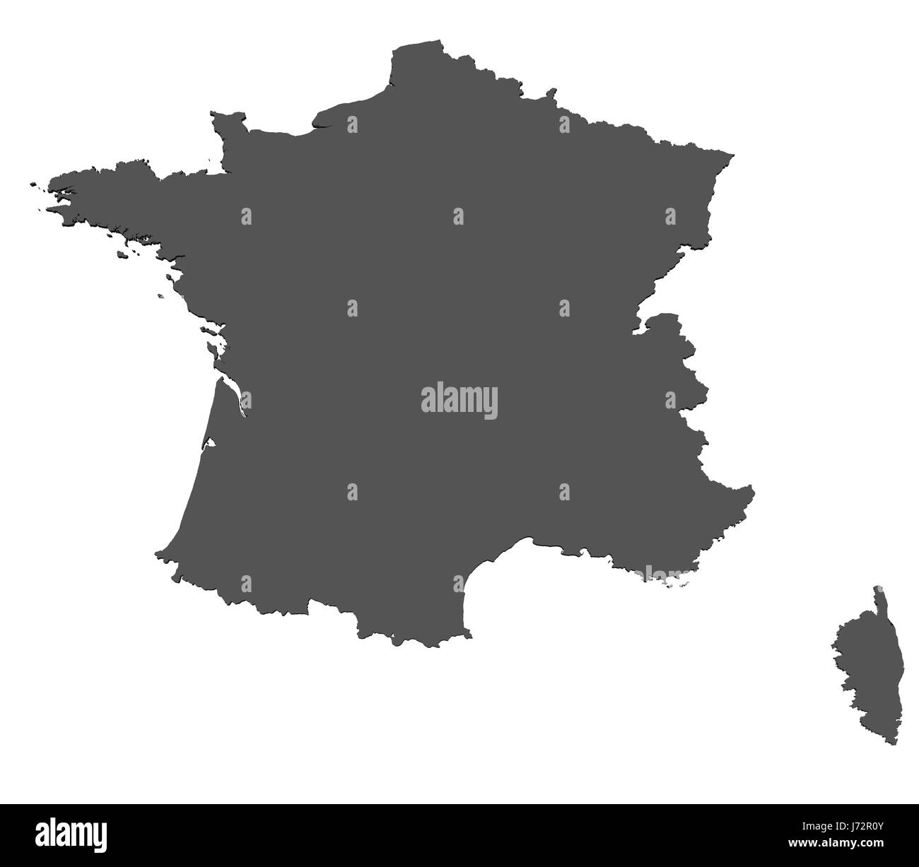 Europe Paris France Card European Union Joining Atlas Map Of The