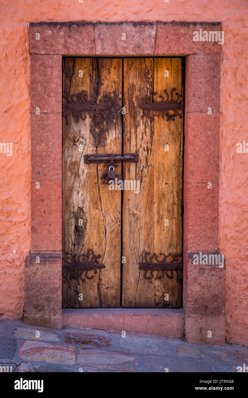 San Miguel de Allende is a city and municipality located in the far eastern part of the state of Guanajuato in central - Stock Image