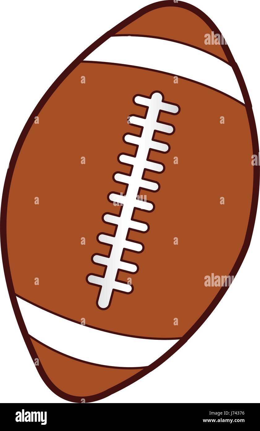 american football balloon icon stock vector art illustration rh alamy com clipart gratuit ballon de rugby clipart image ballon rugby