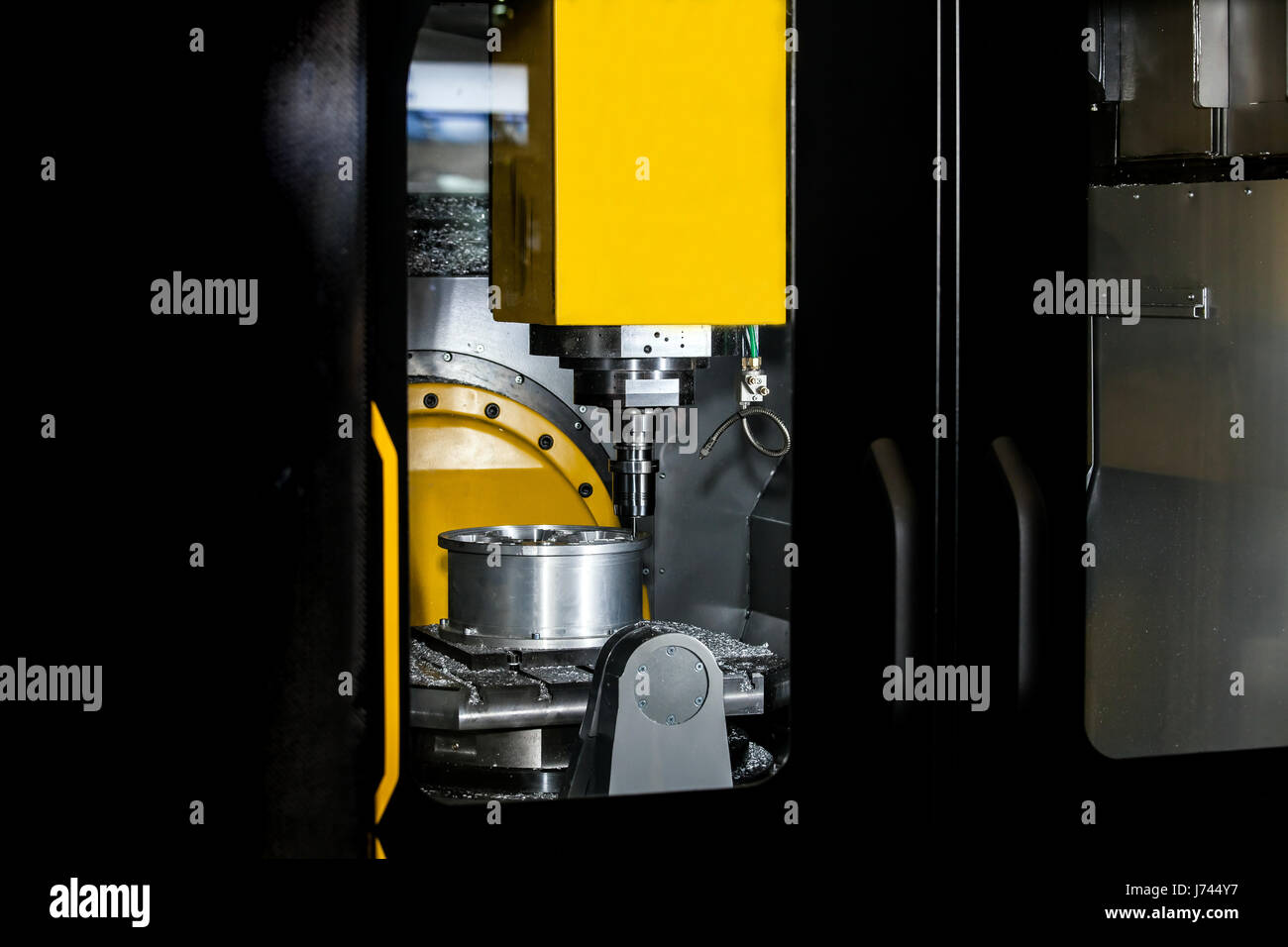 Milling machining center - Stock Image