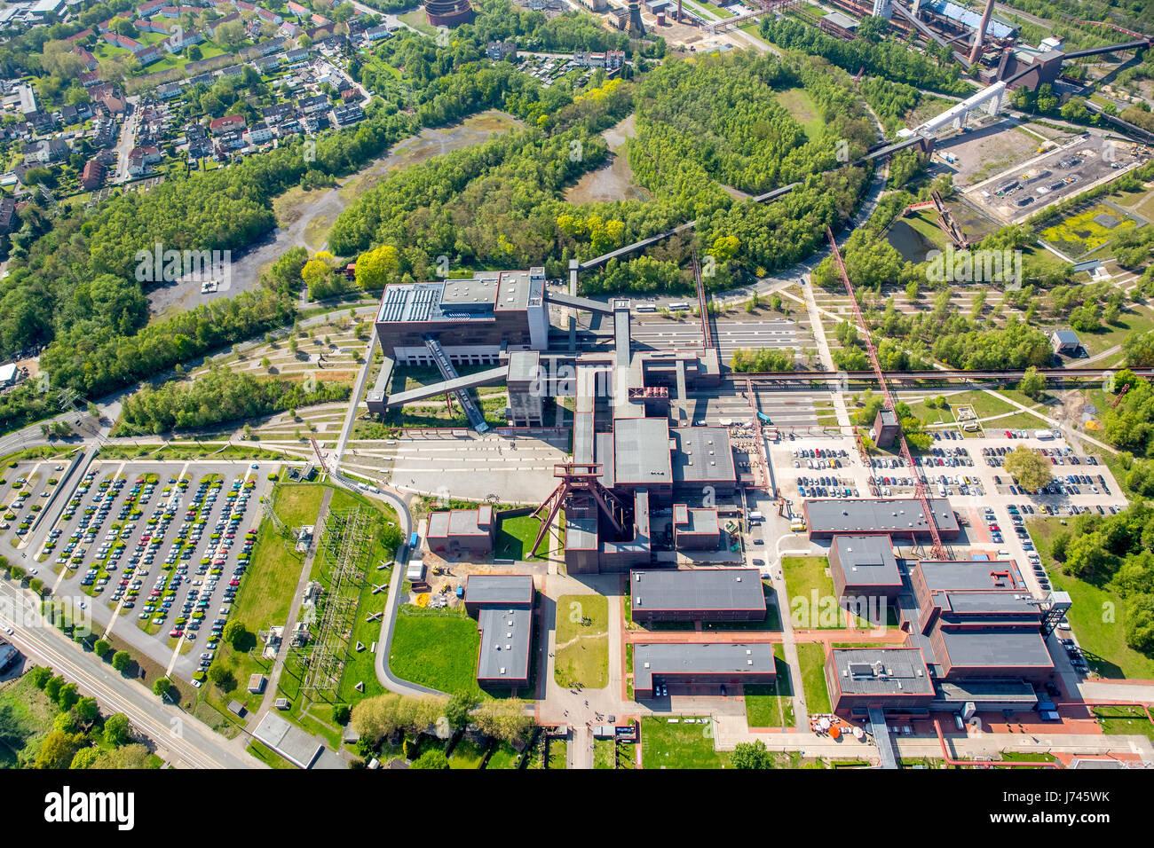 Zollverein World Cultural Heritage Zollverein, Essen, Ruhr area, North Rhine-Westphalia, Germany,Zollverein,  Weltkulturerbe - Stock Image
