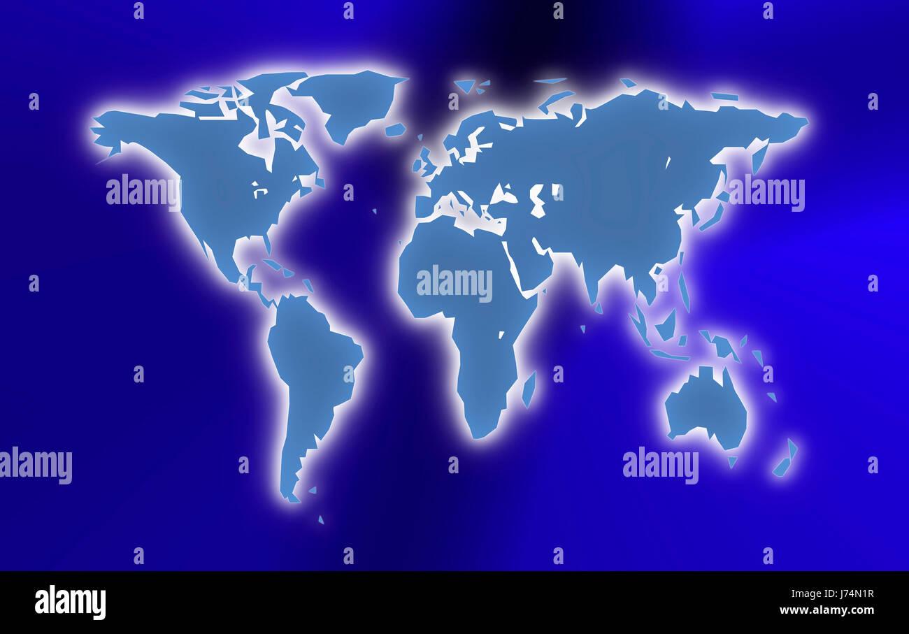 world world map background - Stock Image