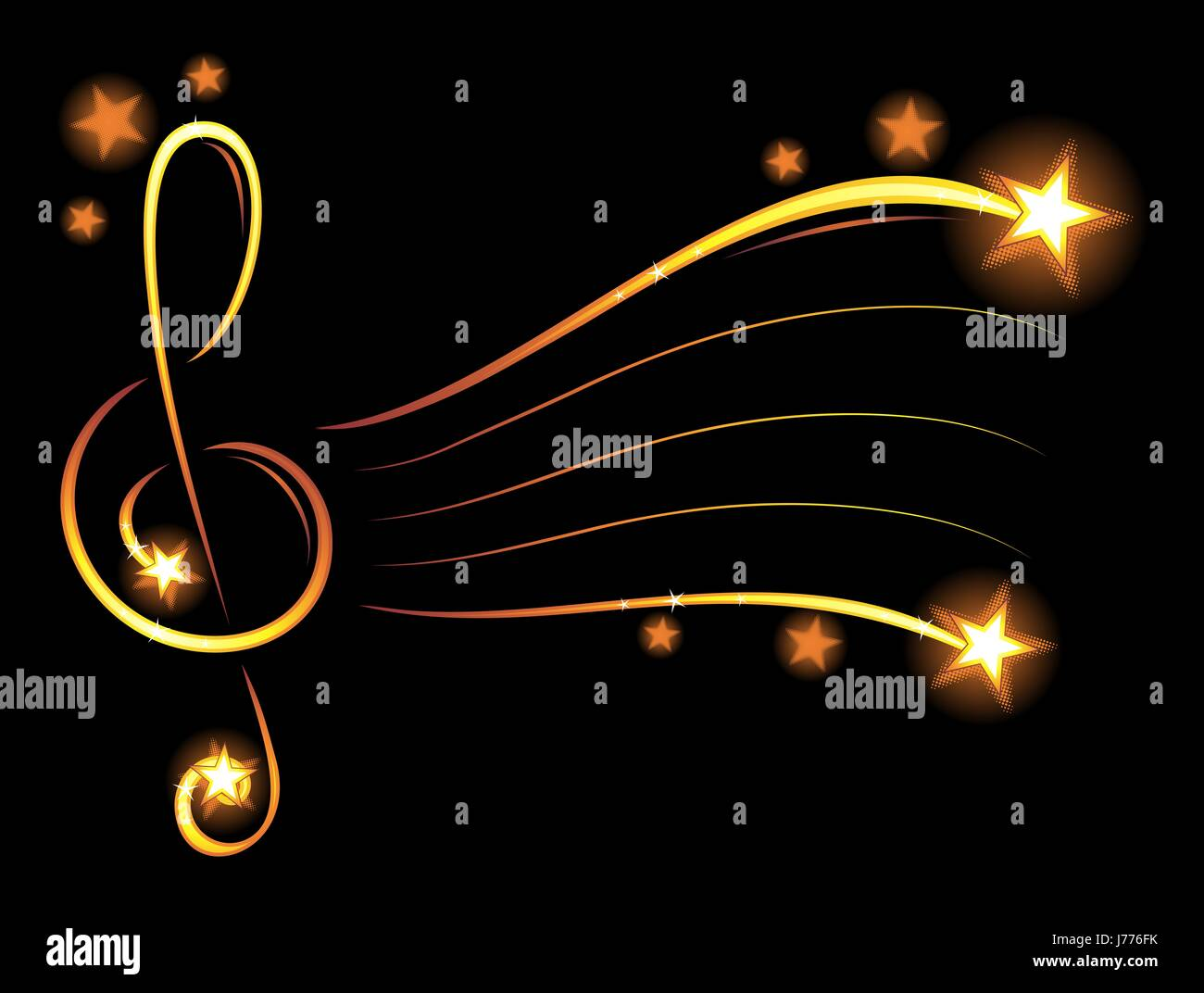 Music Musical Wallpaper Star Backdrop Background Gold