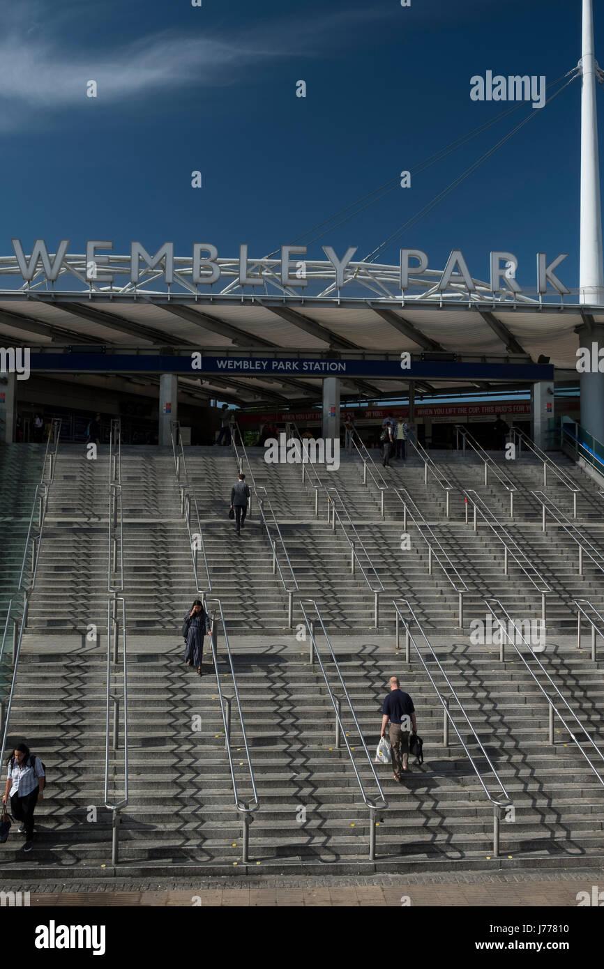 Wembley Park station - Stock Image