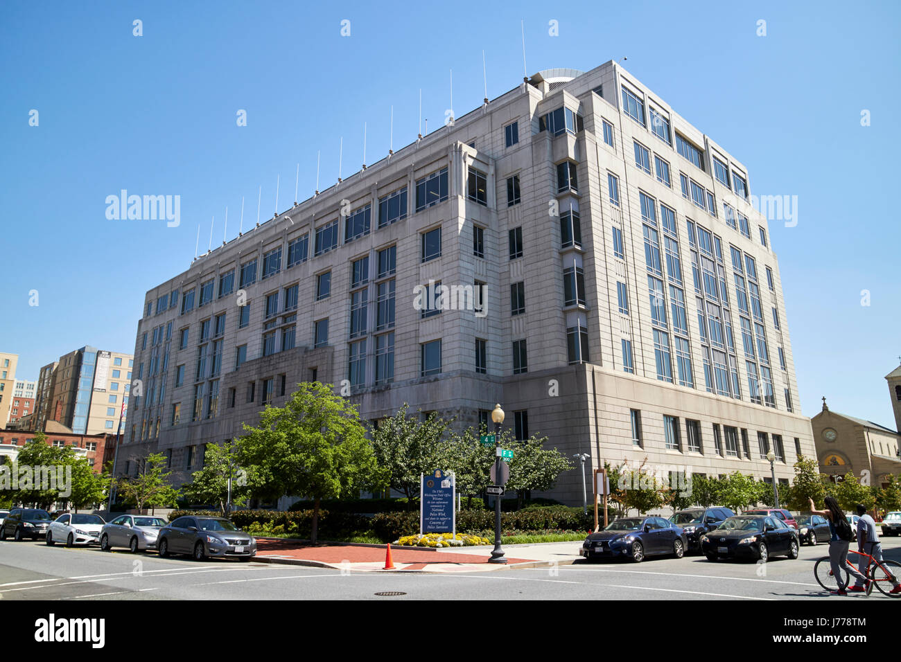 FBI field office judiciary square Washington DC USA - Stock Image