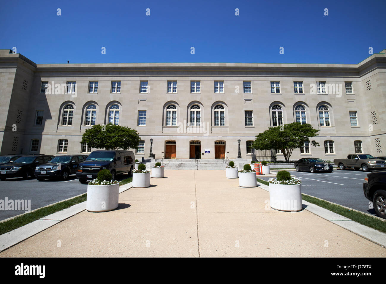 superior court of the district of columbia building b Washington judiciary square DC USA - Stock Image