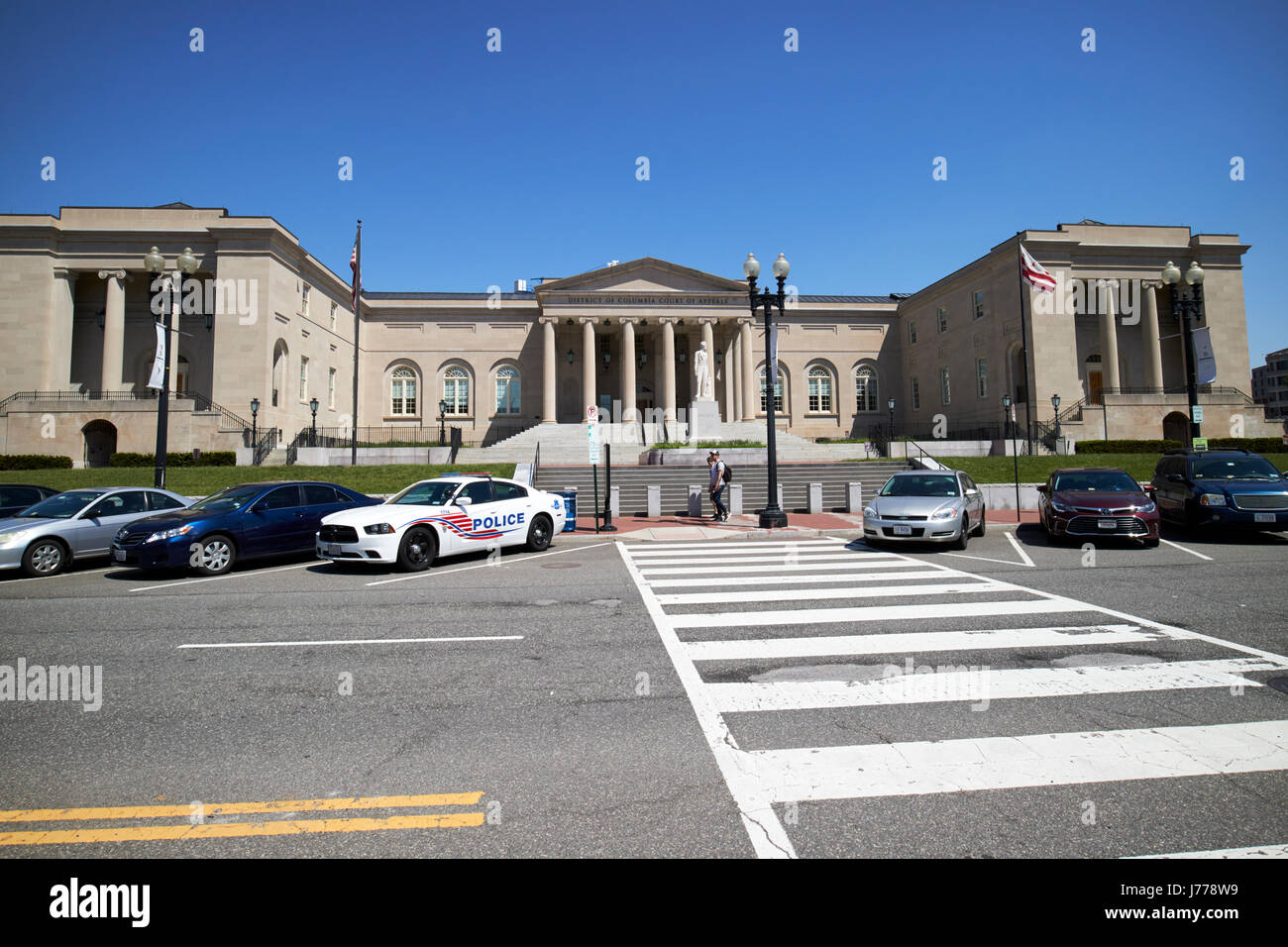 District of Columbia City Hall now the court of appeals judiciary square Washington DC USA - Stock Image