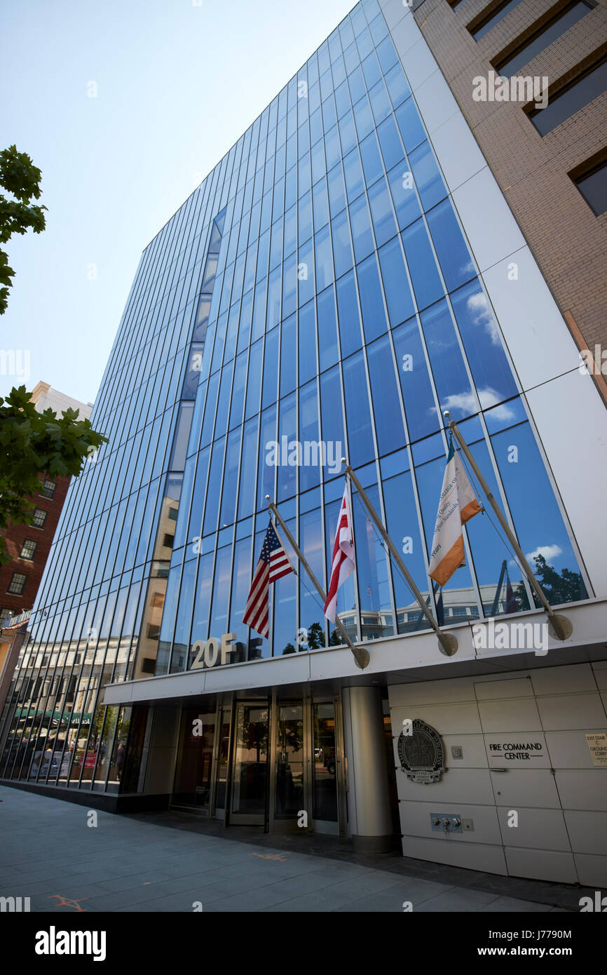 20f street conference center and american college of surgeons Washington DC USA - Stock Image