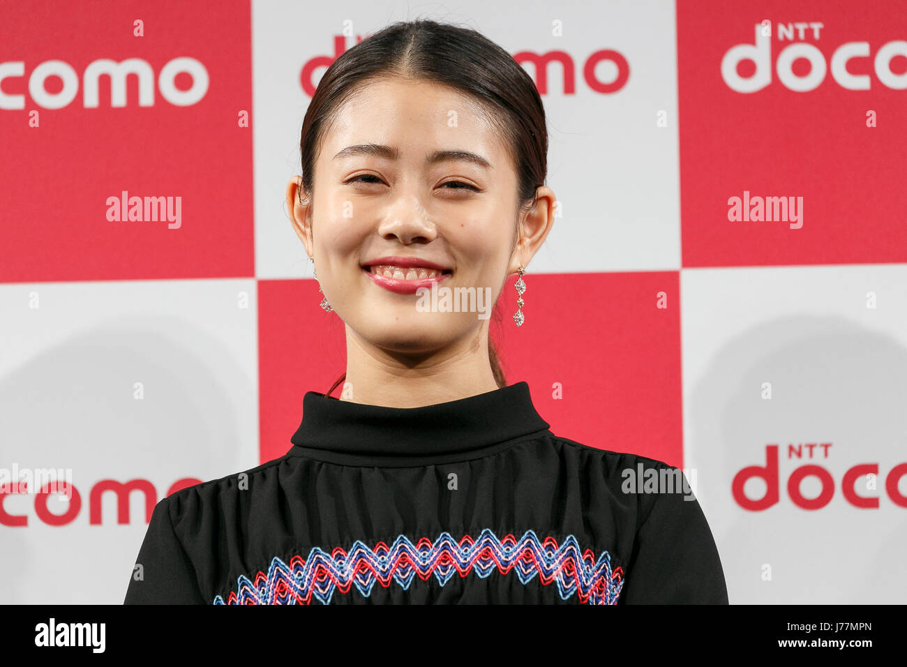 mituki takahata cm Actress Mitsuki Takahata attends the launch event for 8 new mobile devices  for the summer lineup