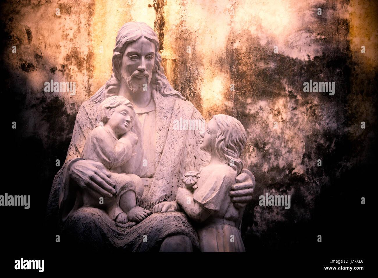 Stone Sculpture Jesus Christ Stock Photos & Stone Sculpture Jesus ...