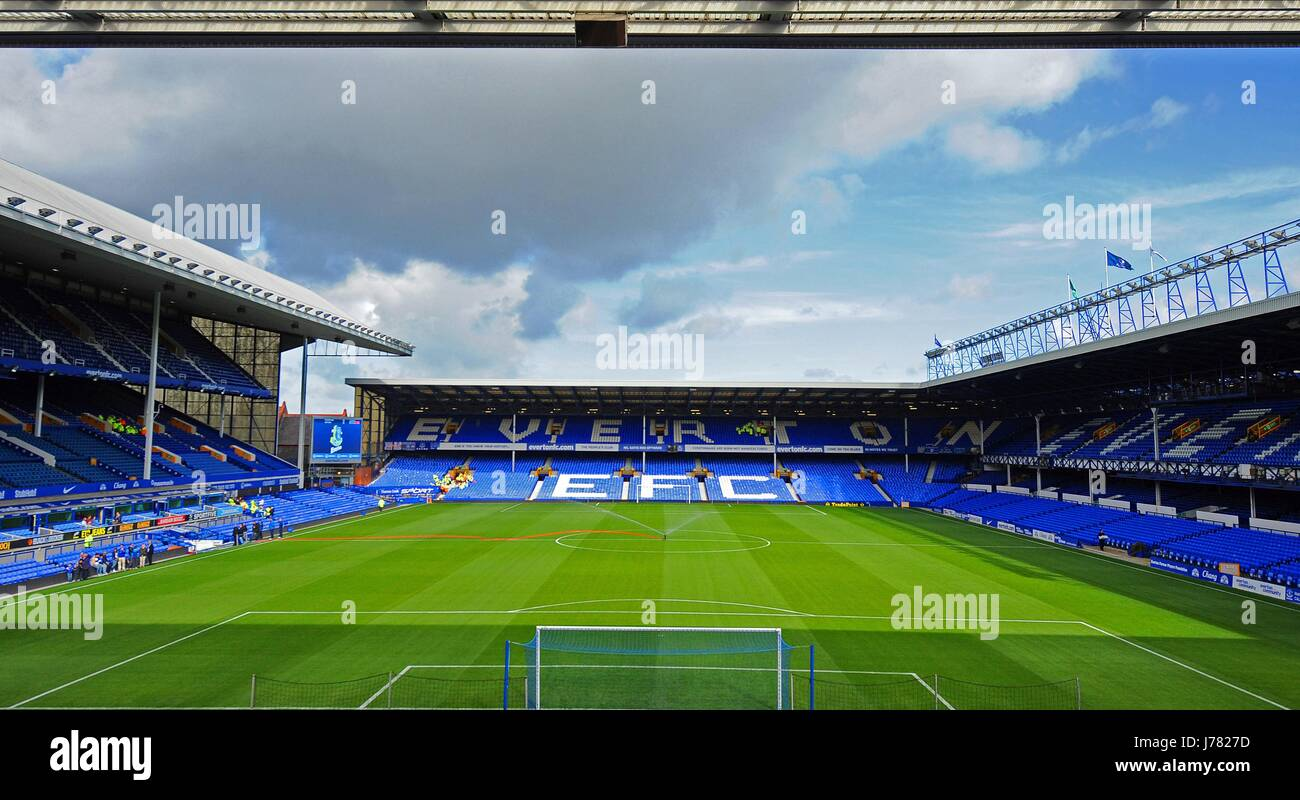 GOODISON PARK EVERTON FOOTBALL CLUB GOODISON PARK EVERTON ENGLAND 29 September 2012 Stock Photo