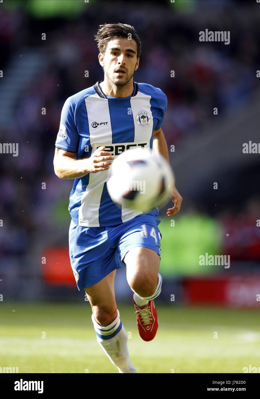 JORDI GOMEZ WIGAN ATHLETIC FC STADIUM OF LIGHT SUNDERLAND ENGLAND 29 September 2012 - Stock Image
