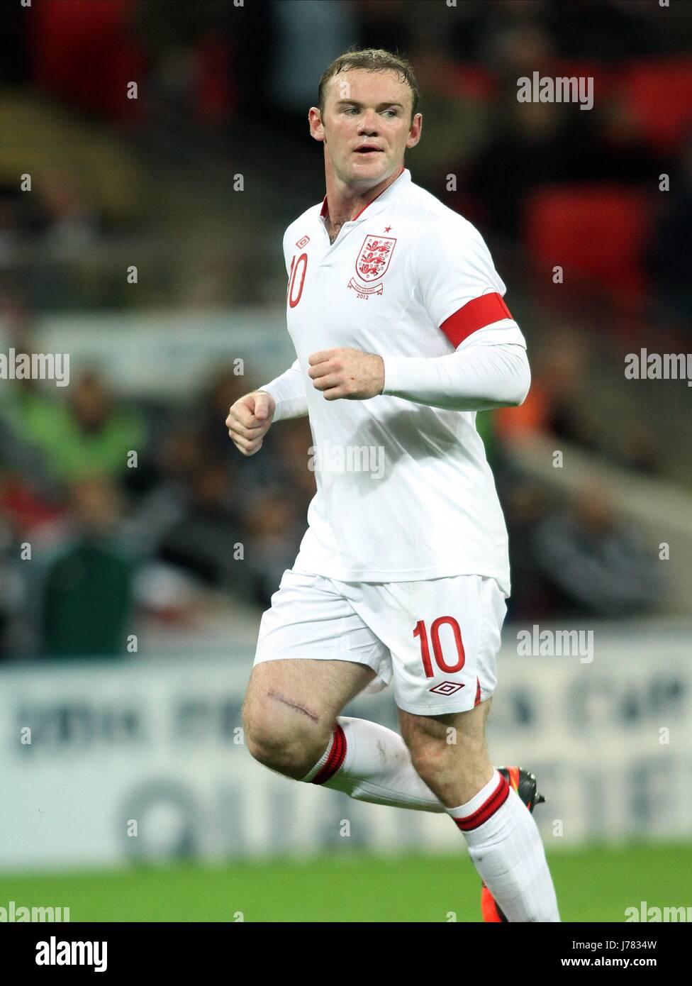 WAYNE ROONEY, ENGLAND, ENGLAND V SAN MARINO. WORLD CUP 2014 QUALIFIER, 2012 - Stock Image