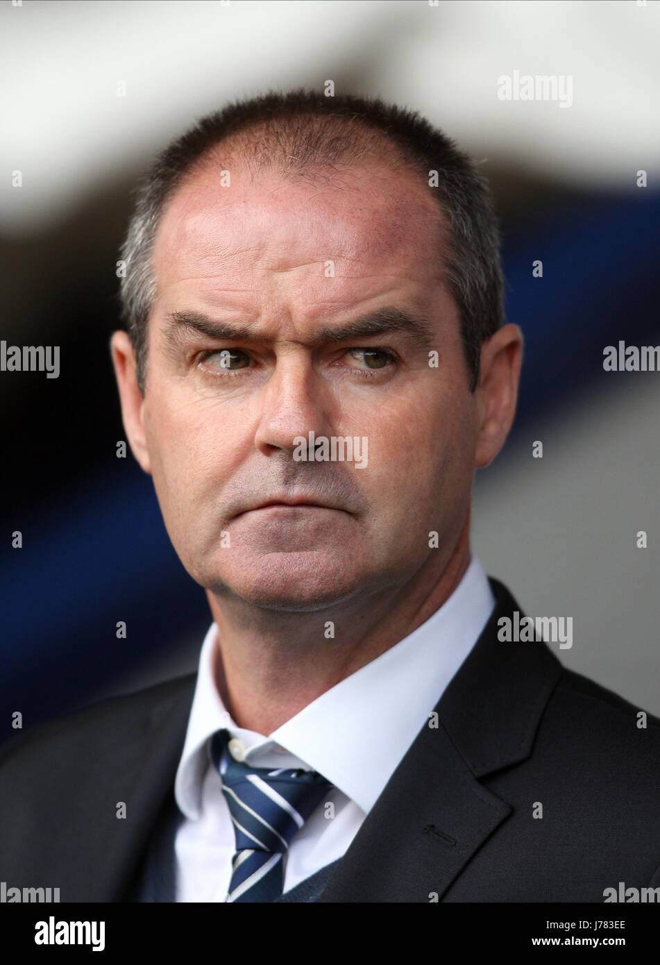 STEVE CLARKE WEST BROMWICH V MANCHESTER CIT THE HAWTHORNS WEST BROMWICH ENGLAND 20 October 2012 - Stock Image