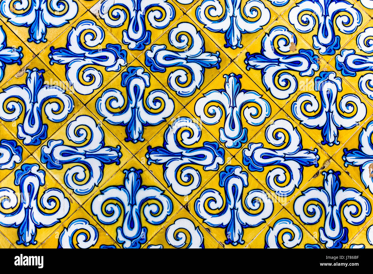 Colorful Vintage Style Ceramic Tile Pattern Texture and Background ...