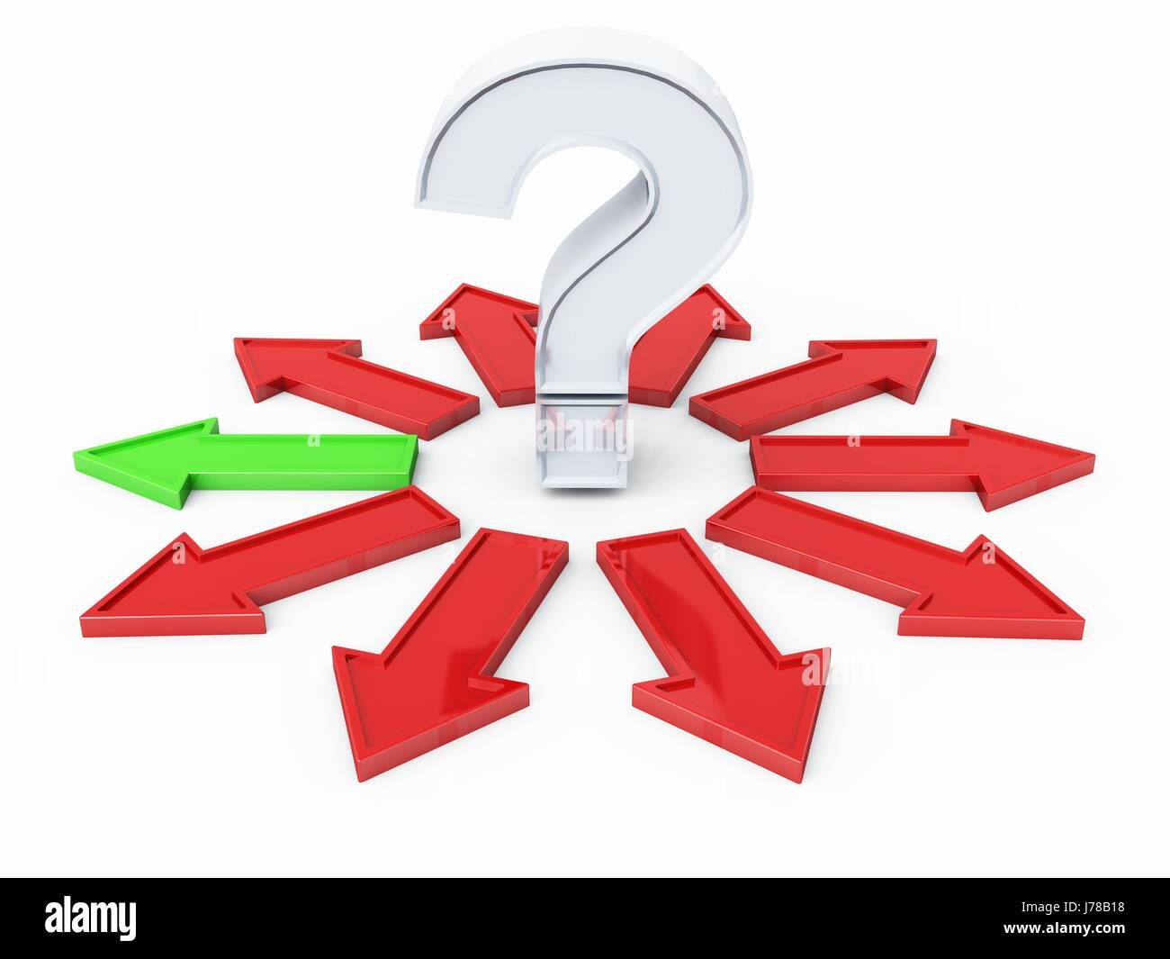 question mark 23 - Stock Image