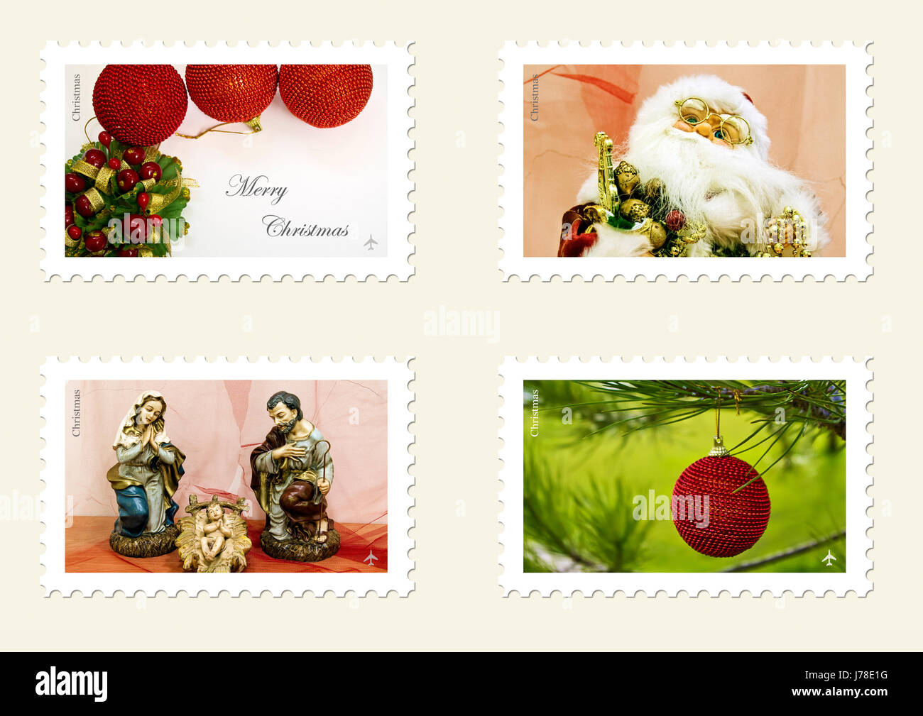 mail christmas collection postage stamp xmas x-mas communication ...