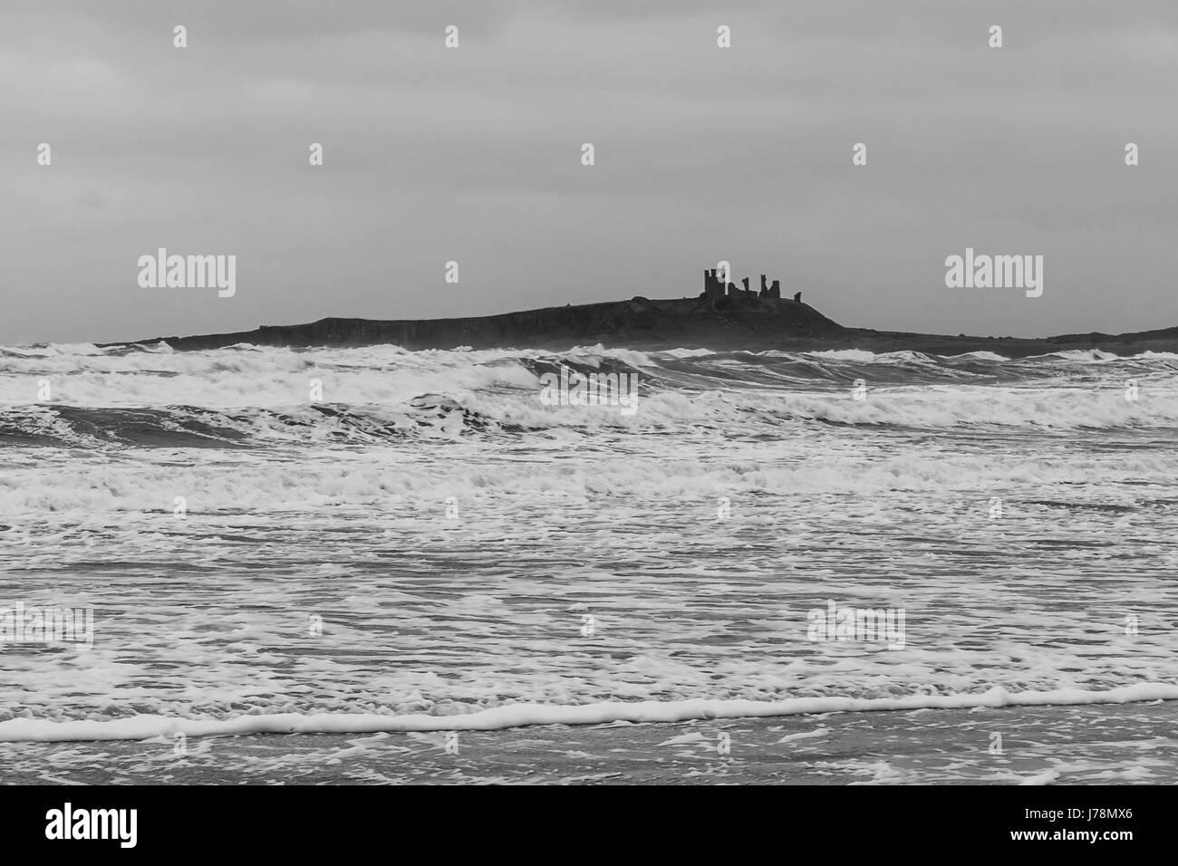 Choppy seas - Stock Image