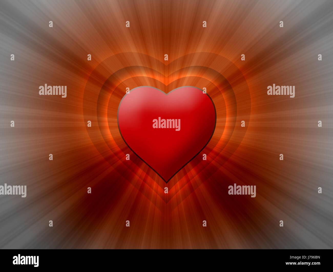 heart light 03 - Stock Image