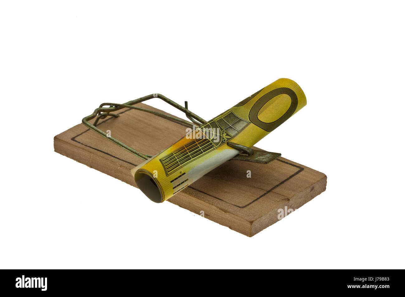 money trap .. Stock Photo
