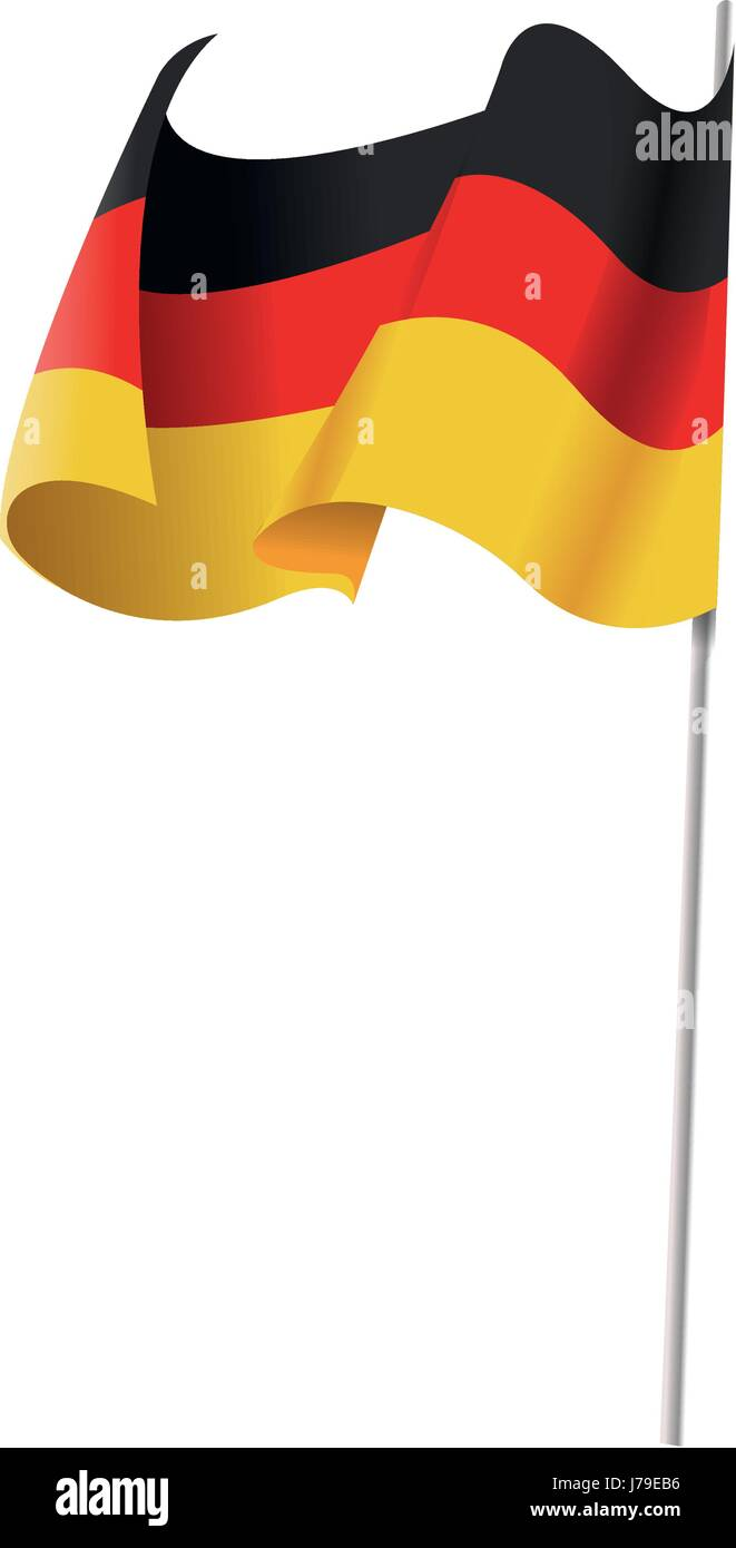 germany flag icon. oktoberfest flag germany symbol country banner. - Stock Image