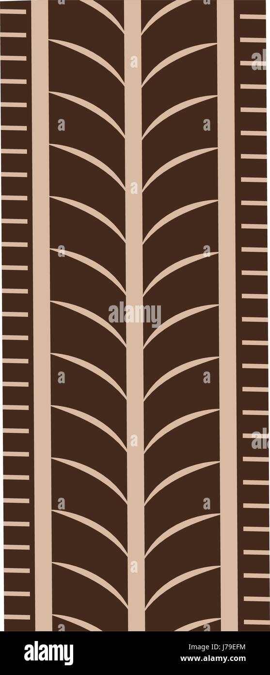 tire treads print texture pattern - Stock Vector
