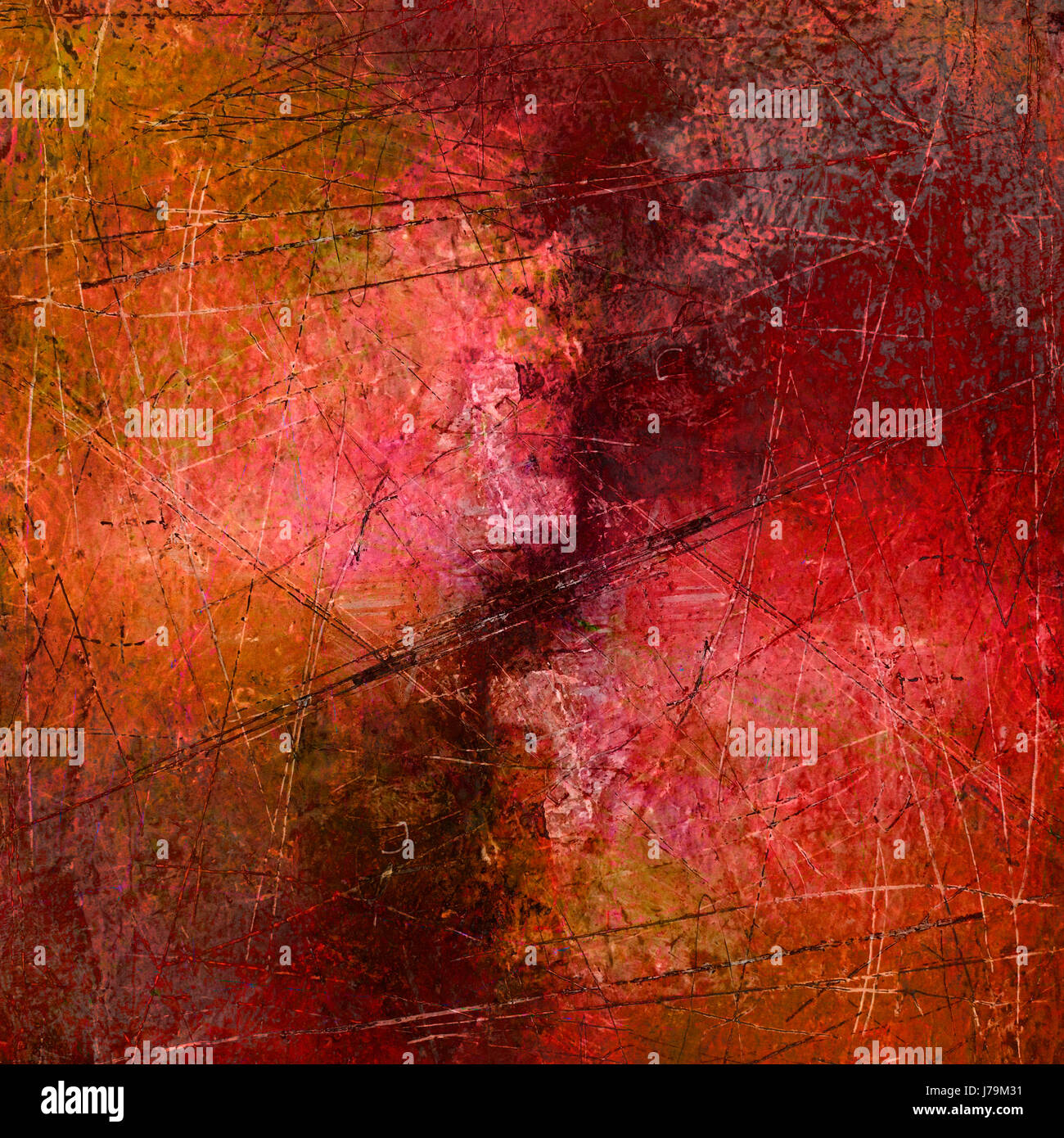 Art Painting Paint Abstract Painted Paintings Scratch Texture Engineering