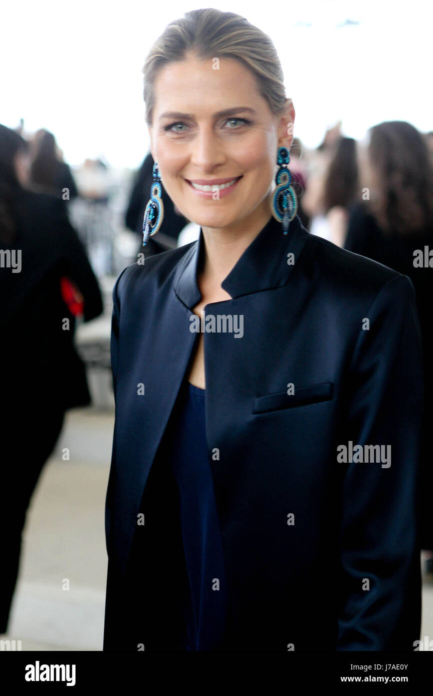 Princess Tatiana of Greece attends at the fashion show of Celia Kritharioti  in Stavros Niarchos Cultural center. efc7114f72d