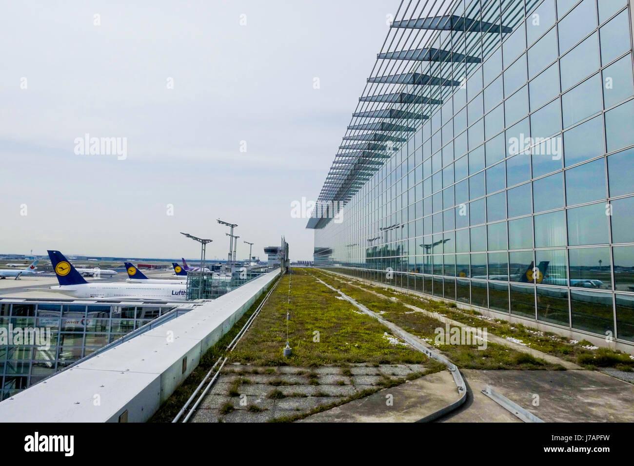 Frankfurt Terminal Airport Stock Photos Frankfurt Terminal Airport