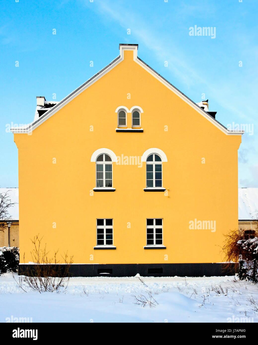 zollhaus krefeld (uerdingen) - Stock Image