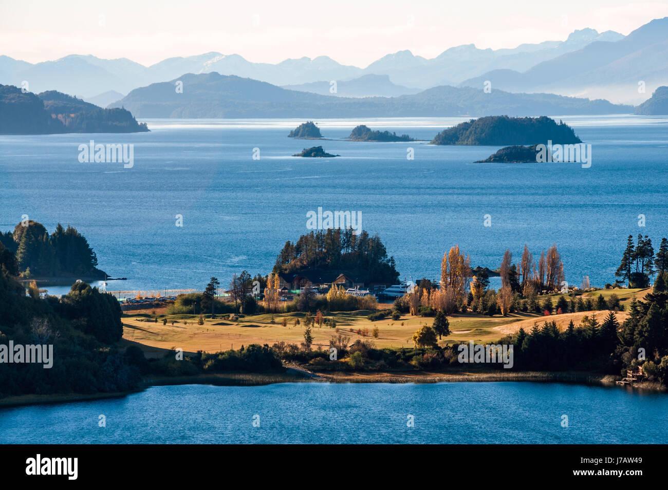 Nahuel Huapi lake, Patagonia Argentina, near Bariloche - Stock Image