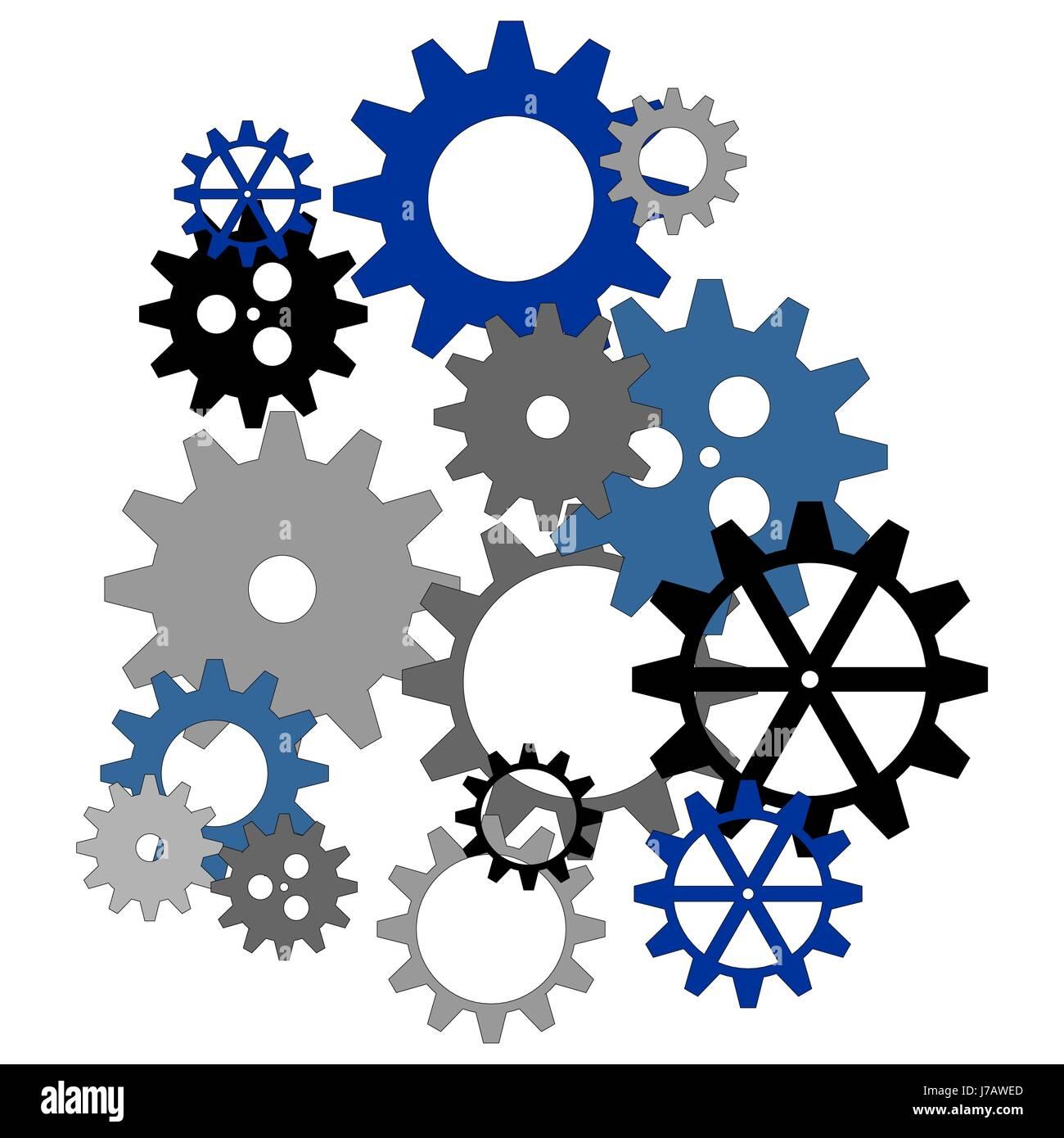 wheel machinery clock gear mechanical robot automatic