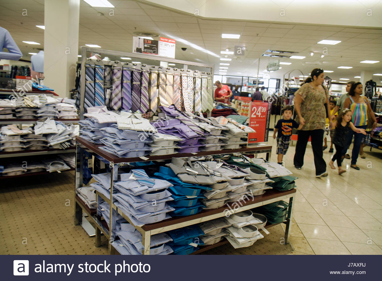 a240f3a69 Miami Florida Aventura Mall shopping retail display for sale J. C. Penney s  department store men s clothing