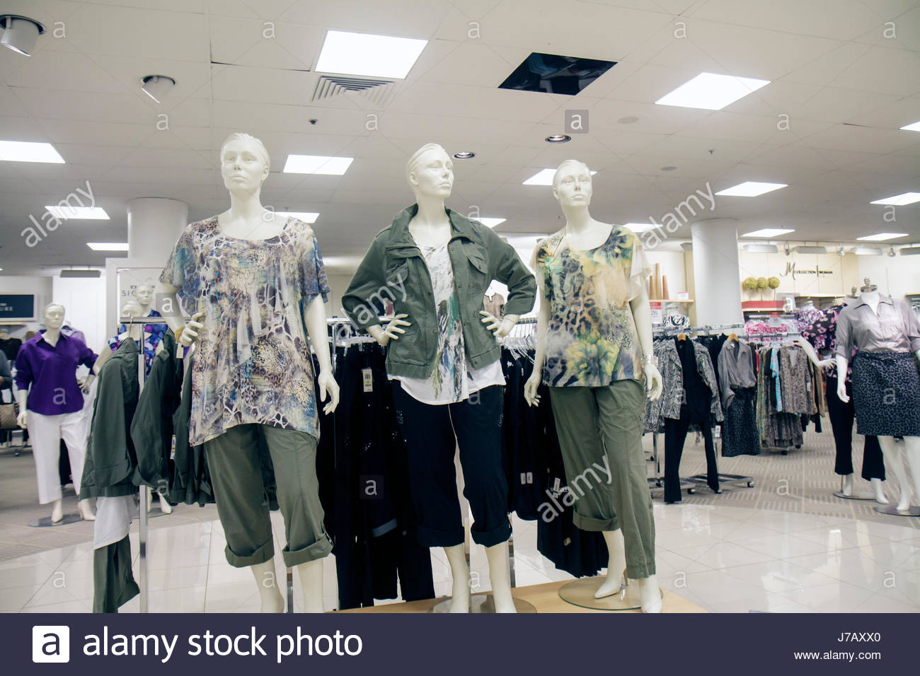 d320a2454 Miami Florida Dadeland Mall shopping retail display for sale Macy's  Department Store clothing women's mannequin -
