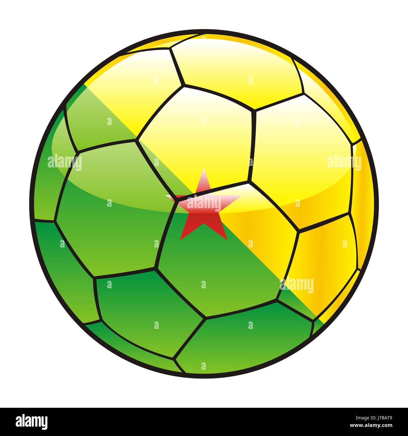 ball illustration flag french vector sport sports soccer football sport sports - Stock Image