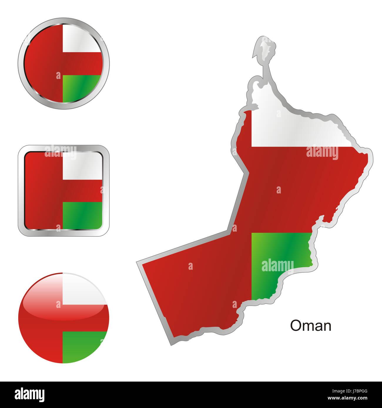 Oman Map Vector Stock Photos & Oman Map Vector Stock Images - Alamy