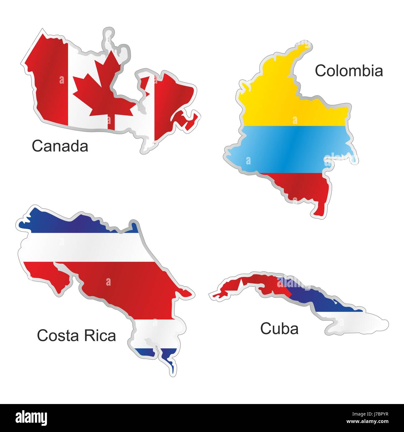 America illustration canada colombia cuba map atlas map of the world america illustration canada colombia cuba map atlas map of the world isolated gumiabroncs Images
