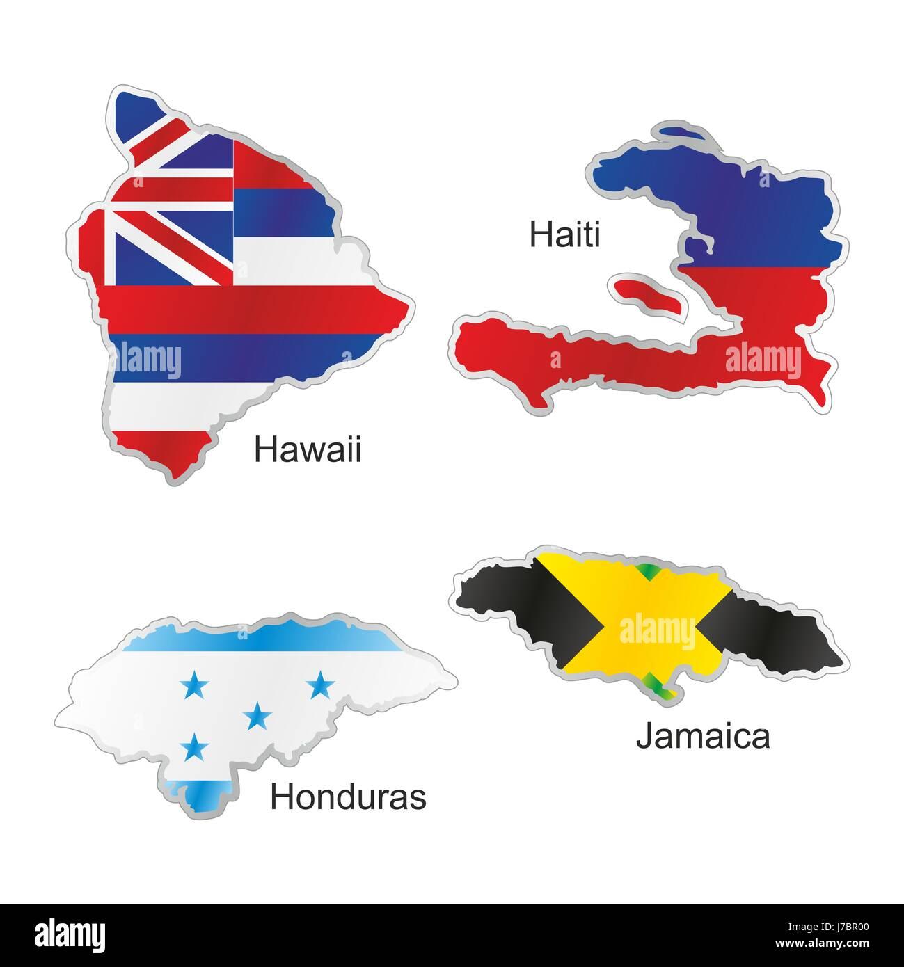 America flag honduras icon jamaica haiti map atlas map of the world america flag honduras icon jamaica haiti map atlas map of the world hawaii gumiabroncs Choice Image
