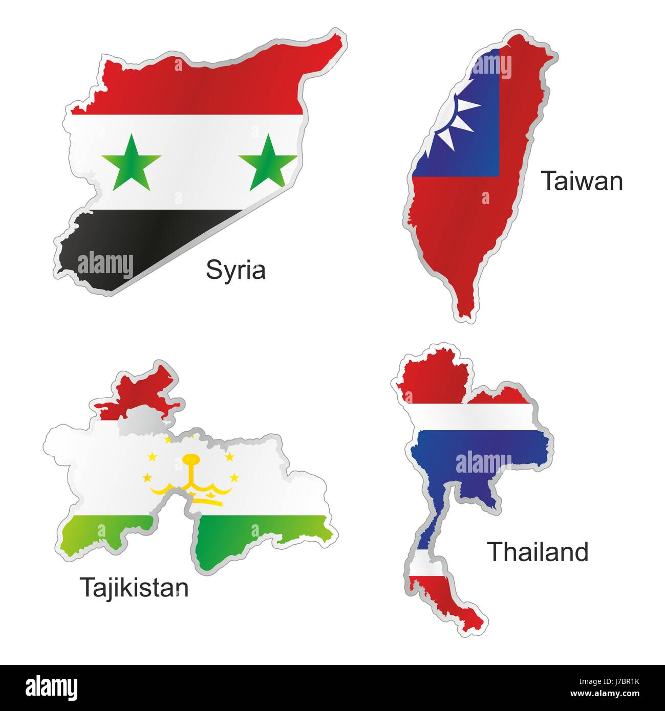 Asia thailand flag syria taiwan map atlas map of the world isolated asia thailand flag syria taiwan map atlas map of the world isolated currency gumiabroncs Images