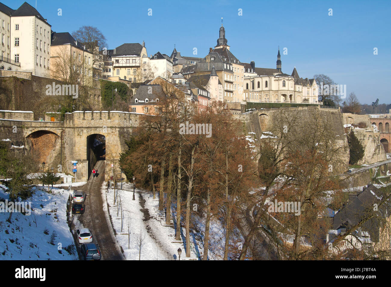 luxembourg 225 Stock Photo