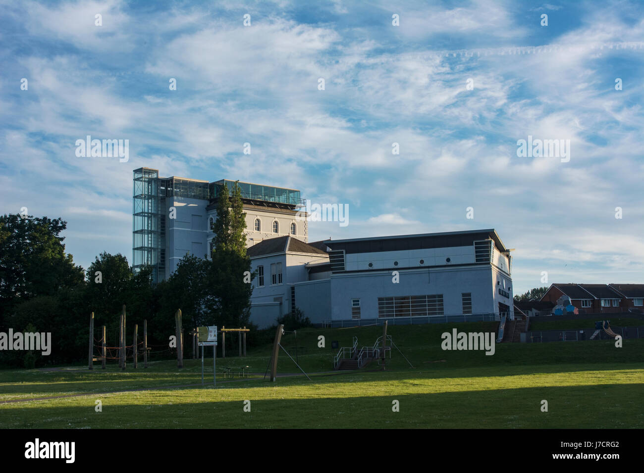 Catalyst museum in West Bank, Widnes, by Spike Island on the banks of the River Mersey close to the Runcorn - Widnes - Stock Image
