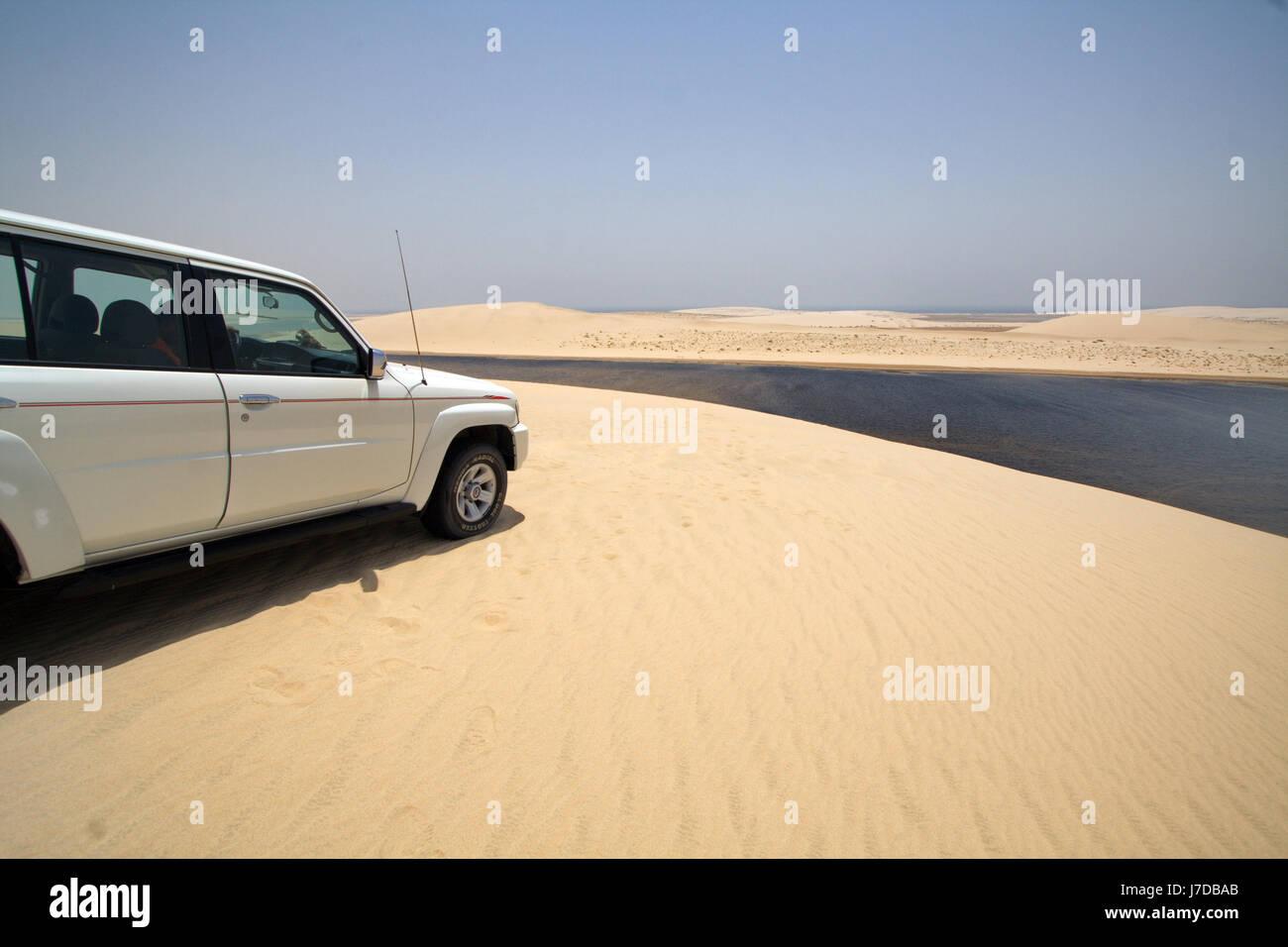 Khor Al Udaid (Inland Sea), Qatar - Stock Image