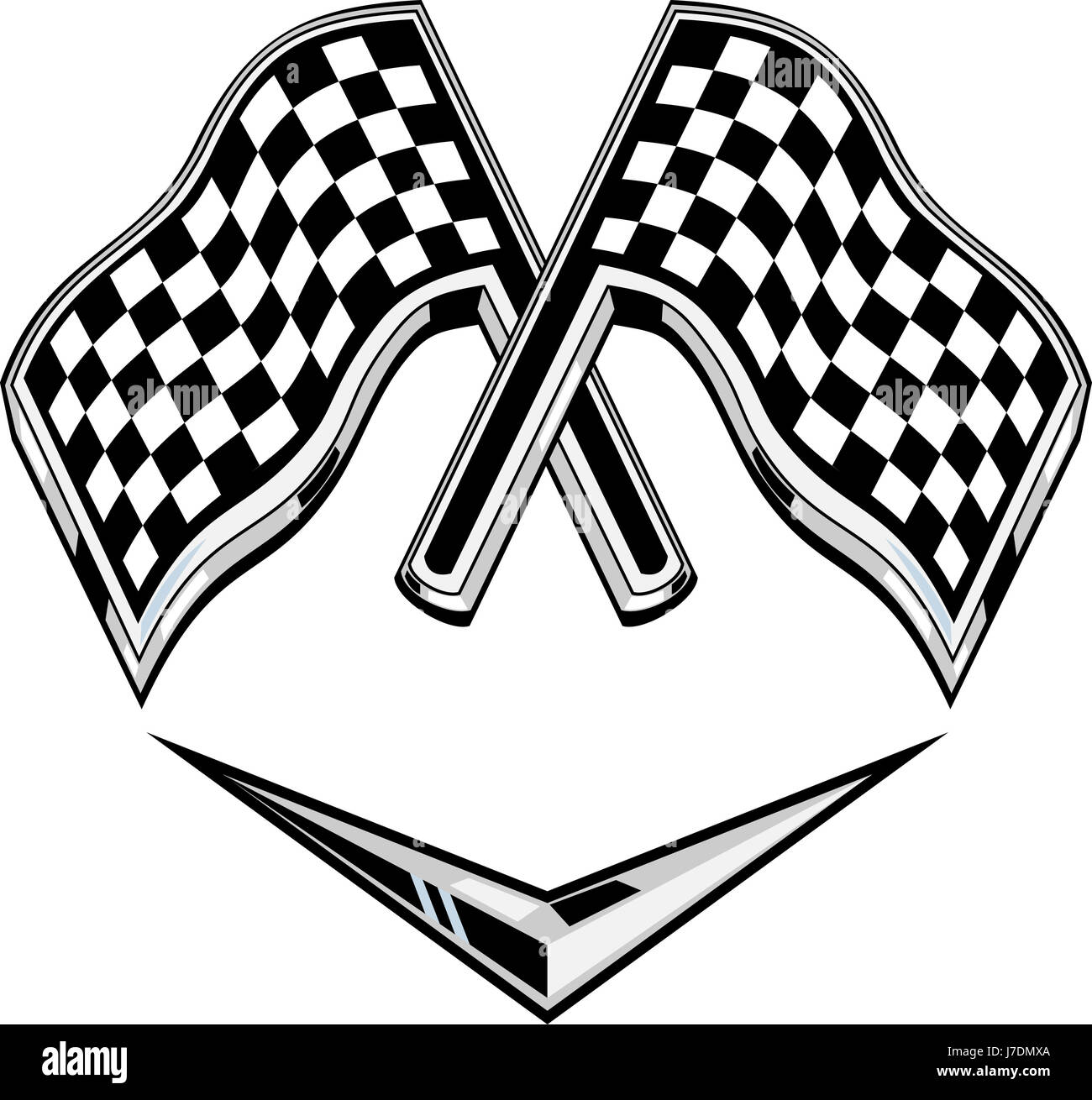 racing stripes stock photos racing stripes stock images alamy Green & Black 06 Mustang racing illustration flag metallic checkered chevron crossed isolated racing stock image