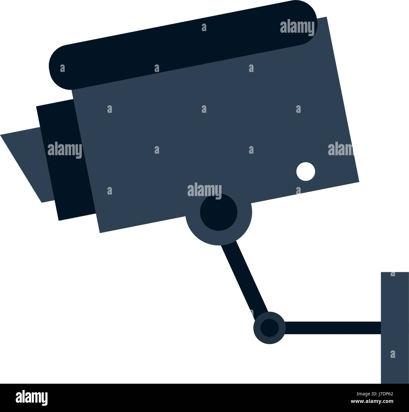 security or surveillance camera icon image  - Stock Image