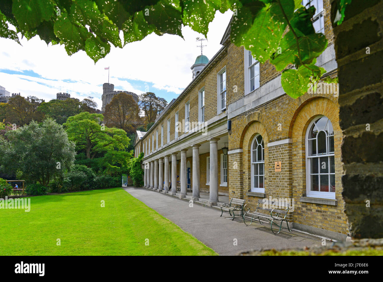 St George's School Windsor Castle, Datchet Road, Windsor, Berkshire, England, United Kingdom - Stock Image